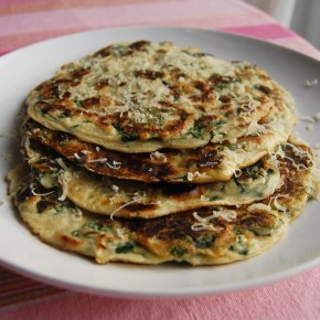 Spinach Pancakes: Meat Free Monday