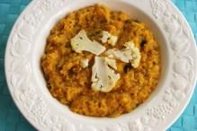 cauliflower lentil dhal