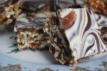 Marbled Chocolate Energy Bars