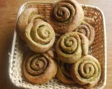 Pesto Pinwheel Rolls