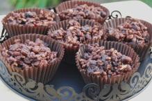 Chocolate Krispie cake