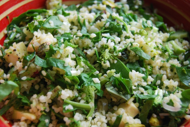 Quinoa Chopped Salad with Raw Veggies