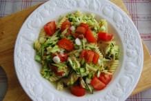 Courgette and Cherry Tomato Pasta