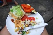 Vegetarian BBQ Menu