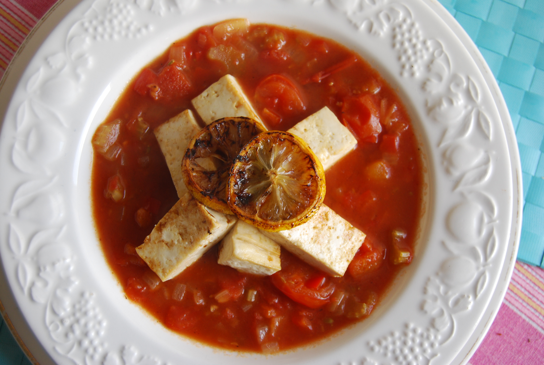 Tofu, Lemon and Tomato Soup (Or Mock Seafood Soup): Meatfree Monday ...