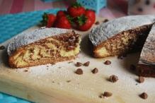 Marbled/ Zebra Cake