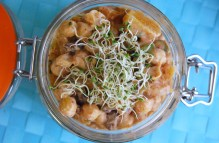 Coronation Chickpea Salad