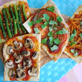 Vegan Four Seasons Pizza: Meat FreeMonday