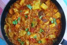 Red Lentil and Root Veg Curry