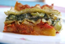Pumpkin and Greens Lasagna