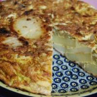 Rustic Potato and Fennel Tortilla. Simplicity at its best!
