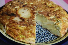 Rustic Potato and Fennel Tortilla