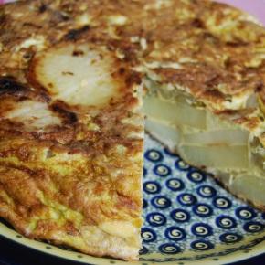 Rustic Potato and Fennel Tortilla. Simplicity at itsbest!