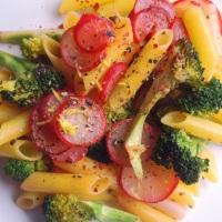 Broccoli, Radish and Lemon Pasta