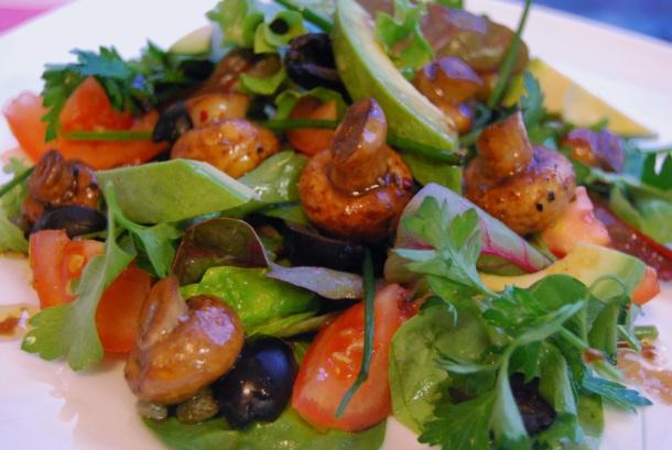 mushrooms salad 2