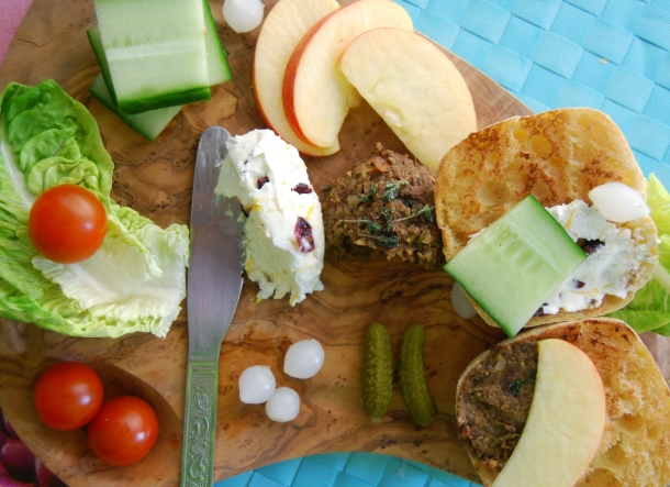 British Vegetarian Ploughmans Salad