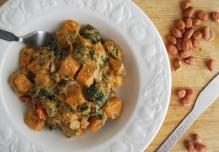 Butternut Squash and Peanut Curry (GF, Vegan)