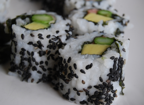 Great for Vegan sushi