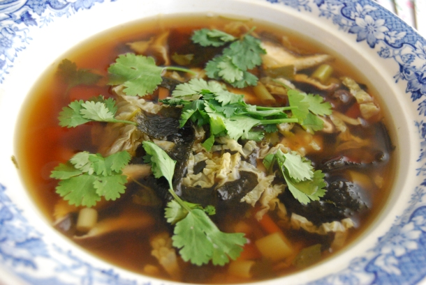 Shiitake and Nori Noodle Soup