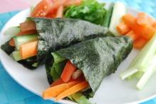 Nori Seaweed Wraps (vegan)