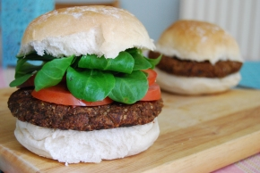 Smokey and Spicy Black Bean Burger: Perfect Vegan, Gluten Free BBQ Option