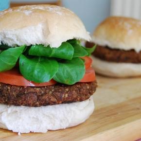 Smokey and Spicy Black Bean Burger: Perfect Vegan, Gluten Free BBQOption