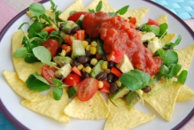 Mexican Style Chopped Salad