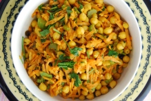 Carrot and Chickpea Moroccan Salad