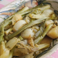 Braised Fennel and Baby Leeks Tapas