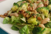Apple, Broccoli and Butterbean Salad