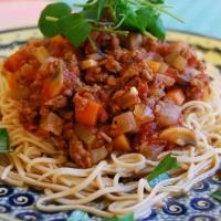 Veggie Spaghetti Bolognese and Veghotpots 2nd birthday!