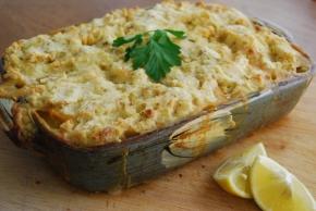 Vegan 'Fish' Pie with Tofu and Oyster Mushroom  – VeganMoFo