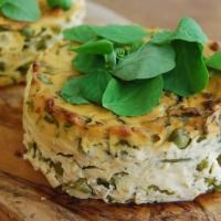 Garden Pea Tofu Fritatta (Vegan MoFo)