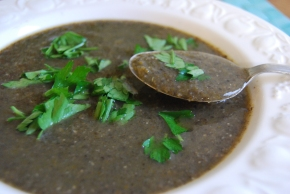 Cream of Field Mushroom Soup – VeganMoFo