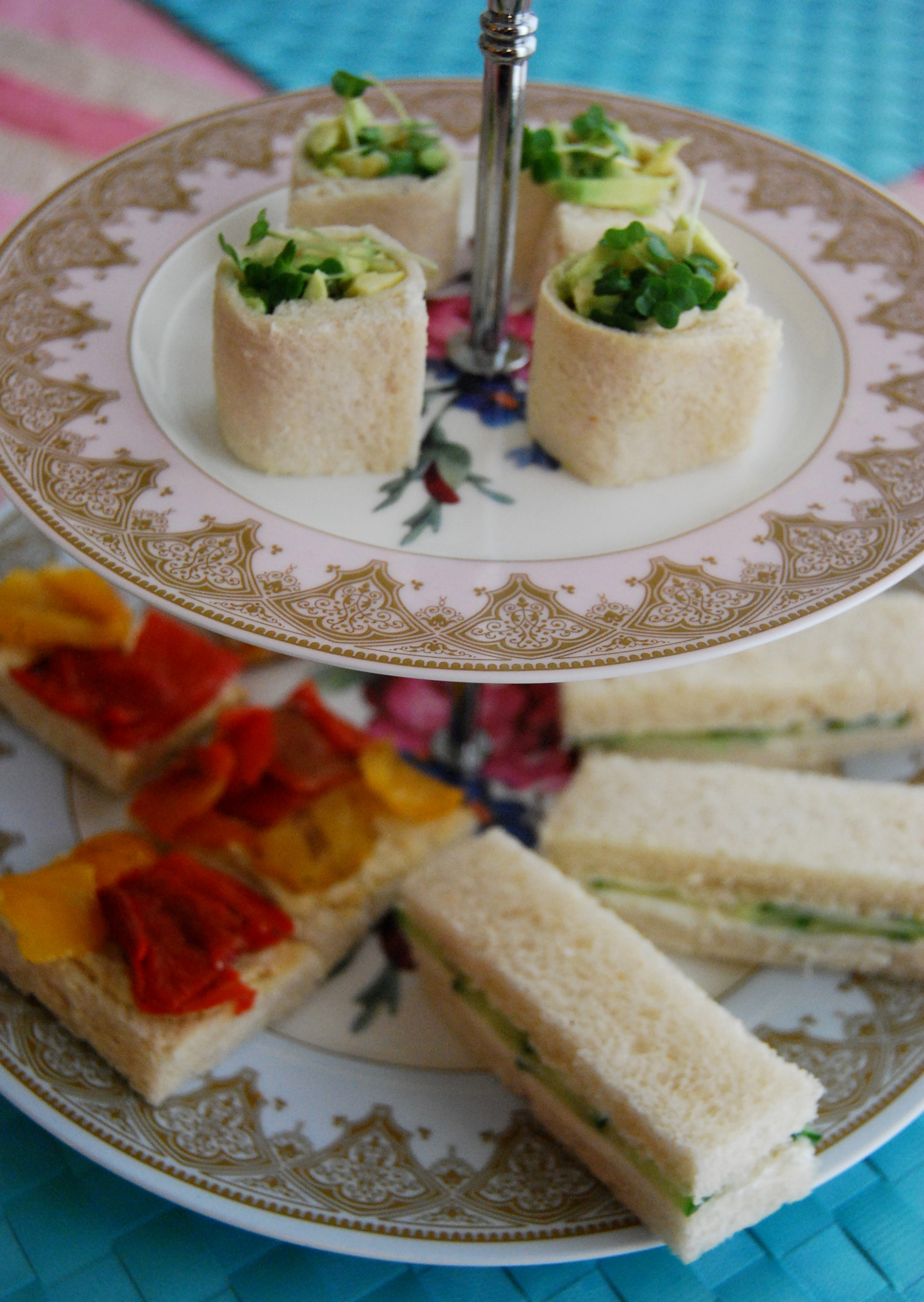 Simple Afternoon Tea Sandwich Ideas Part 1 Vegan MoFo