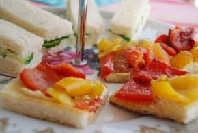 Simple Afternoon Tea Sandwich Ideas. Part 1 – VeganMoFo