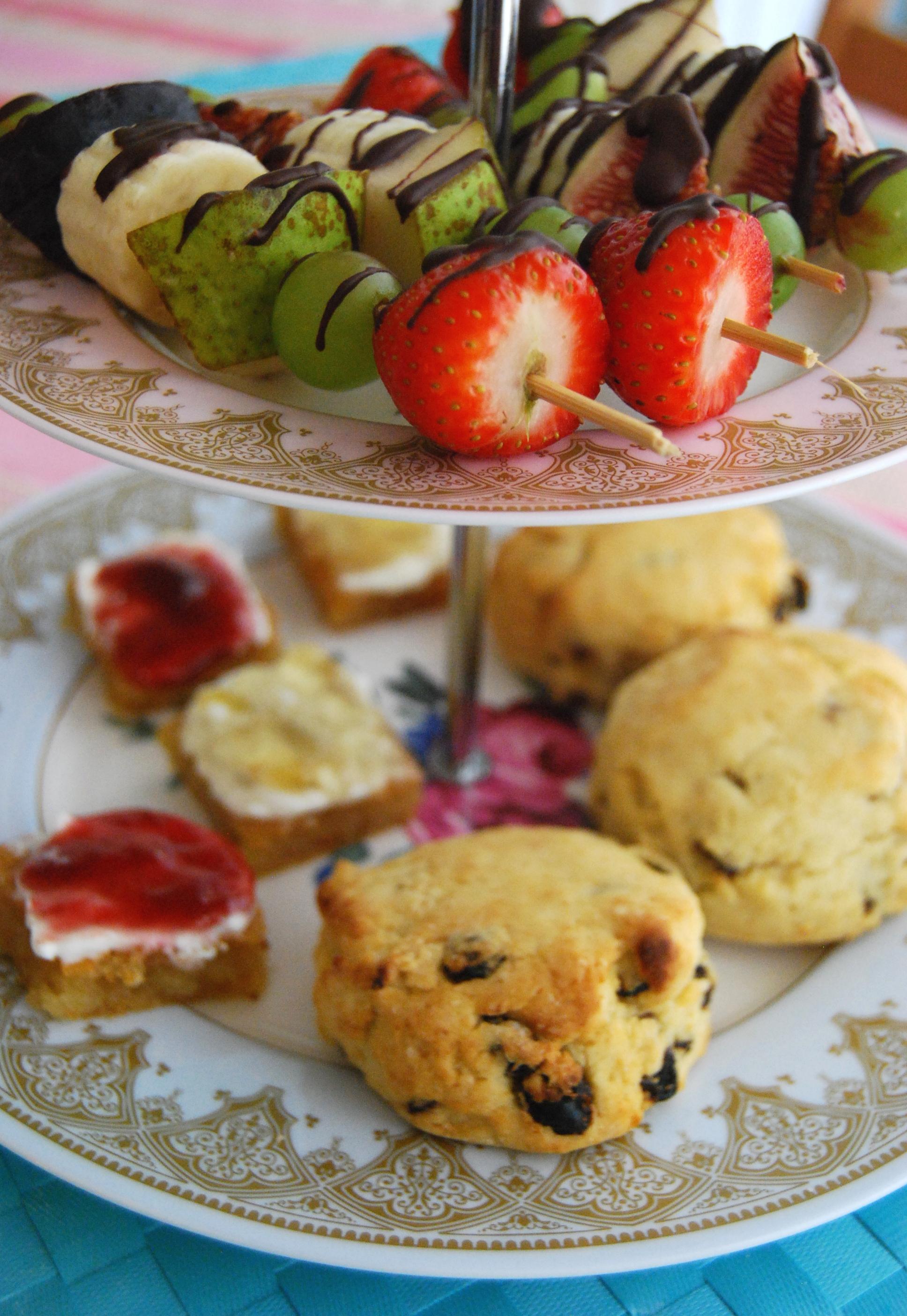 Afternoon Tea Part 2 Simple Sweets Vegan Mofo Veghotpot