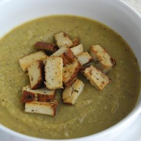 Pea and 'Ham' Soup (Smoked Tofu): Vegan MoFo 'British Classics Made Vegan'finale!
