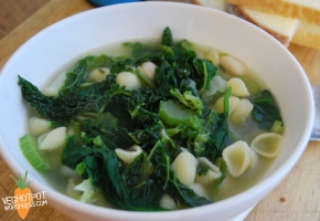 Minestrone Verde Soup