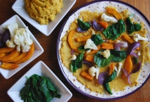 Lentil, Cauliflower and Pumpkin Quesadillas