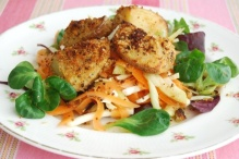 Roast Potato and Coleslaw Salad