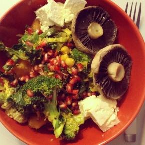 How to create the perfect veggie bowl! My new favouritedinner!