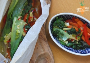 Chilli and Ginger Bok Choi En Papilotte: Technique of theWeek!