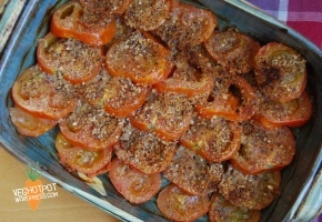Vegetarians in The Victorian Times and Baked Tomatoes #MuseumWeek,#GetCreative