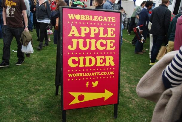 cider sign