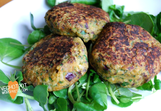 Lightly spiced Falafel