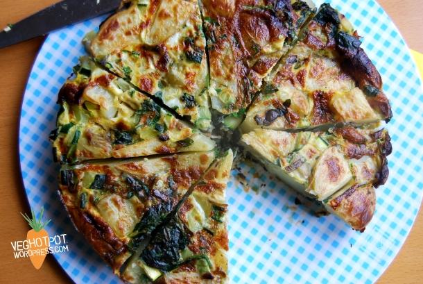 Summer Greens Tortilla