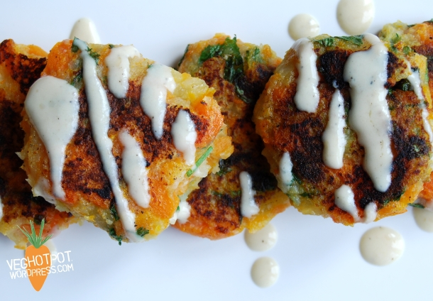 Carrot Fritters2