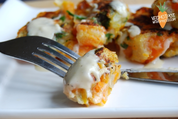 Carrot Fritters3