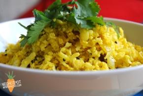 Cauliflower Pilau 'Rice'